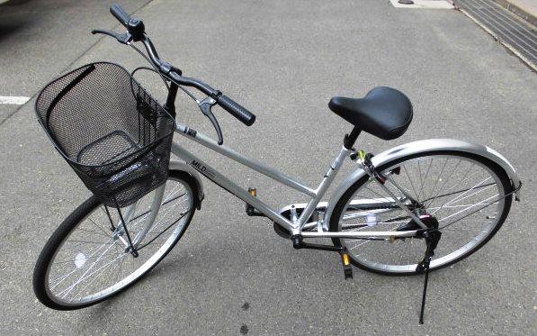 大人用自転車の写真