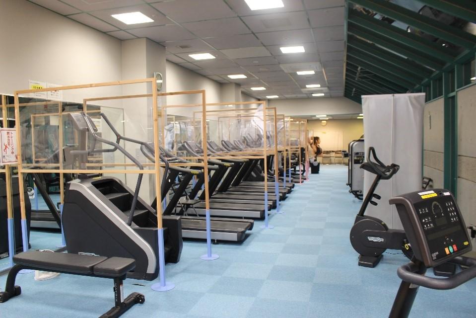 トレーニング室の写真