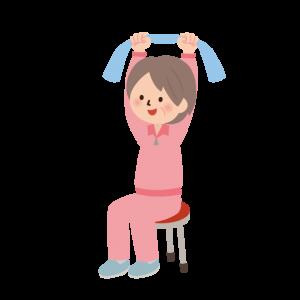 体操するイメージ