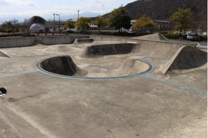 十六沼スケートボードパークの写真