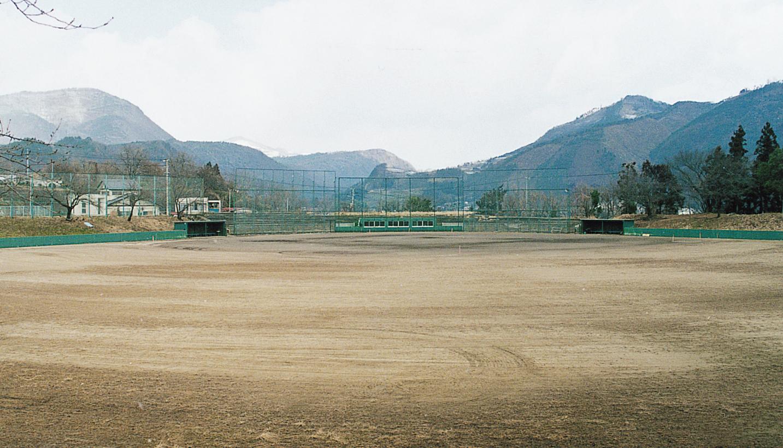 飯坂野球場の写真