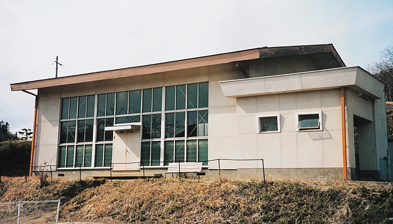 清沢地区体育館外観写真