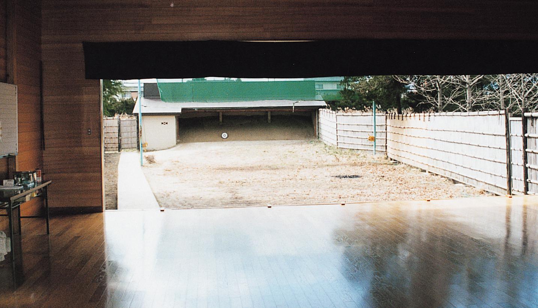 福島市弓道場の写真