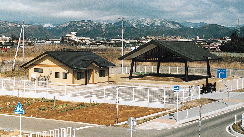 相撲場の写真