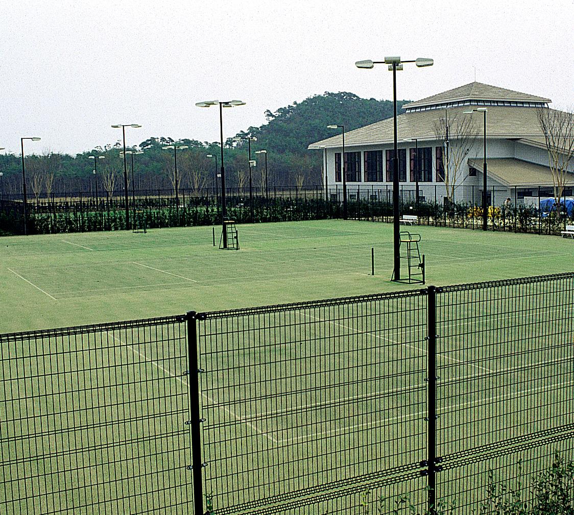 十六沼テニスコートの写真